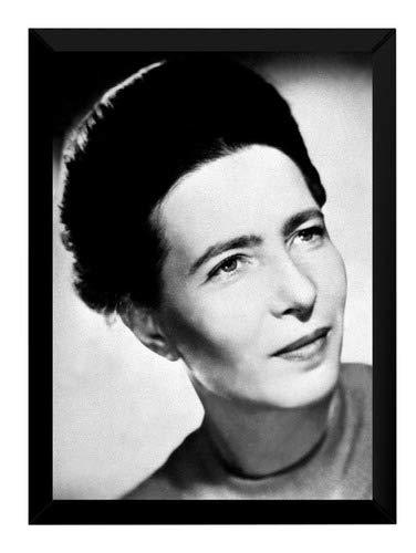 Quadro Simone De Beauvoir Feminismo Ativismo Ideologia