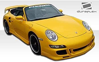 1999-2004 Porsche 996 997 Duraflex GT-3 RS Front End Conversion - Includes 997 GT-3 RS Conversion Front Bumper (105125), 997 GT-3 RS Conversion Grille (105127), and 997 Conversion OEM Fenders (105128). - Duraflex Body Kits