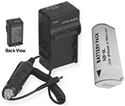 Battery + Charger for Canon ELPH 510 HS, Canon IXUS 1100 IS ELPH510HS, Canon IXUS 1100IS 510HS