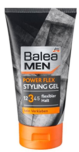 Balea Men Power Flex Styling Gel, 1er Pack (1 x 150 g)