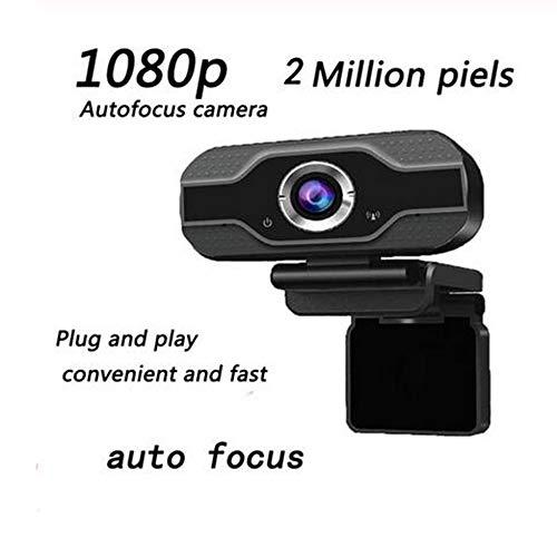 MEICHEN 5 Megapixel Auto Focus HD Webcam 1080P del PC Web Camera USB Cam Video Conference con Microfono per Computer Portatile,F