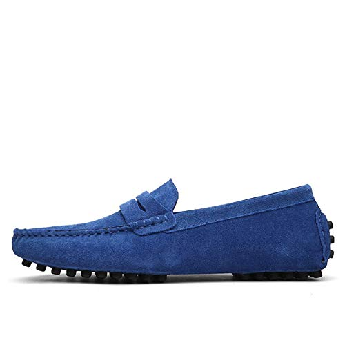 Herren Lederschuhe hundert Türme Breathable beiläufige lederne Arbeitsschuhe Men Casual Driving Schuhe Faule Boots-Schuhe,3,41