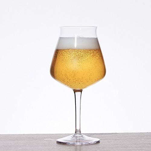 Jarra De Cerveza De Cristal, Juego De 4 Piezas Hecha De Copa De Vino De Gran Capacidad Sin Plomo, Adecuada Para Diversas Ocasiones 420 Ml