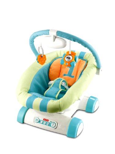 Baby Gear - Hamaca Vamos de Paseo, Juguete con Sonido (Mattel W2044)