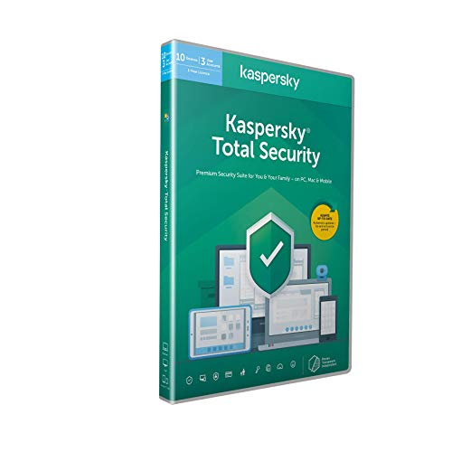 Kaspersky Total Security 2021 | 10 Devices | 1 Year | Antivirus, Secure VPN...