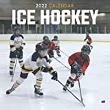 Ice Hockey 2022 Calendar: Mini Calendar 2022 with Large Grid for Note - To do list, Gorgeous 8.5x8.5   Small Calendar, Non-Glossy Paper