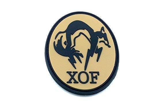 XOF Foxhound Kaki Metal Gear Solid Patch PVC Toppa