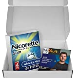 Nicorette Nicotine Gum to Stop Smoking, with Quit Support System, White Ice Mint, 4mg, 12 Weeks Quit Smoking Aid, 160 Count