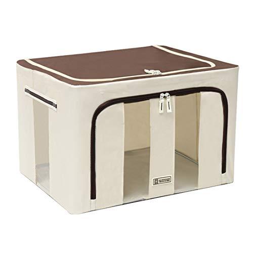 ZJP Oxford Cloth Clothes Storage Box Quilt Organizer Folding Storage Basket Wardrobe Storage Boxes(Color:style3,Size:50x40x33cm)