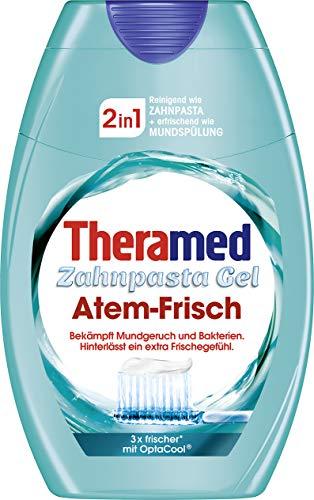 Theramed 2in1 Atem-Frisch Zahncreme, 3er Pack (3 x 75 ml)