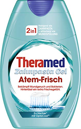 Theramed Zahncreme 2in1 Atem-Frisch, 1er Pack (1 x 75 ml)