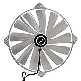 Talius FAN02R LED Rojo - Ventilador 20 cm