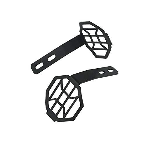 ZHANGJINYAN Ajuste para BMW R1200GS R1250GS / ADV LC R1200RT F750GS F850GS K51 K52 LED Lámpara antiniebla Auxiliar LED Lámpara de luz de luz Guard Parrill Grill Protector