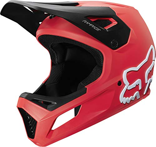 Fox Yth Rampage Helmet Bright Red
