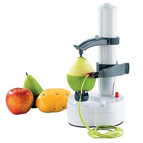 MLQ Pelador de Frutas y Verduras automático de Acero Inoxidable Multifuncional, Cortador...