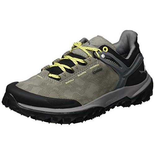 SALEWA Wander Hiker Gore-Tex, Scarpe Da Escursionismo Donna, Multicolore (Sauric/limelight), 36 EU