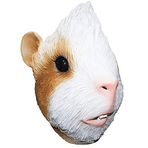YO Maske für Meerschweinchen, Latex, voller Kopf, Maus, Ratte, Cosplay, Kostüm