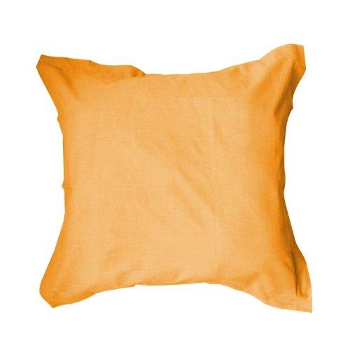 Funda de almohada de 75 x 75 cm (para almohada de 60 x 60), 100% algodón de 57 hilos, colección Today