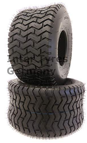 Gripstar - Neumáticos para tractor cortacésped (2 unidades, 20 x 10,00-8 LG02, 20 x 10-8)