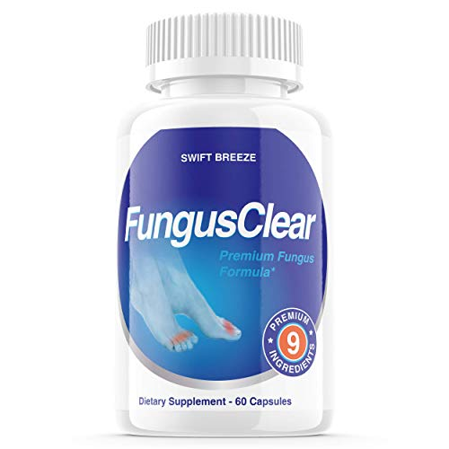 Fungus Clear Pills, Fungus Clear Nails Plus - for Strong Healthy Nails (60 Capsules)