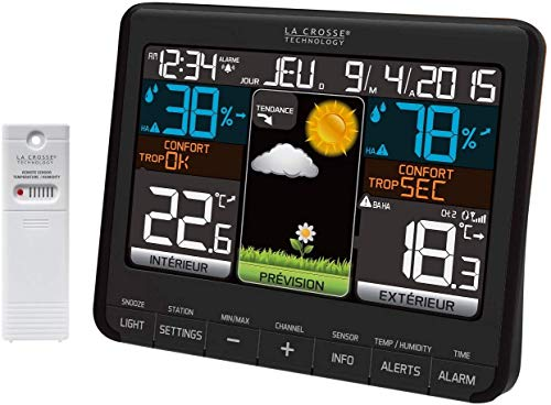 La Crosse Technology - WS6825 BLA - Weather Station
