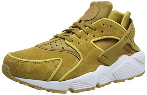 Nike Damen Air Huarache Run Premium Laufschuhe, Mehrfarbig (Muted Bronze/Muted Bronze/Wheat Gold 202), 38 EU