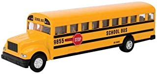 Schylling Large School Bus Die Cast Toy