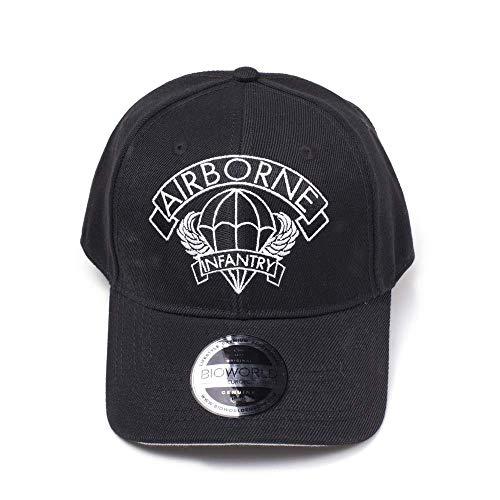 Wolfenstein Cap Airborne Curved Bill Black