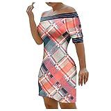 Binggong Y2K - Mini abito estivo da donna, con stampa 3D