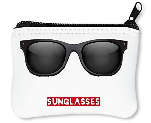 Hipster Left His zonnebrillen rits portemonnee portemonnee portemonnee