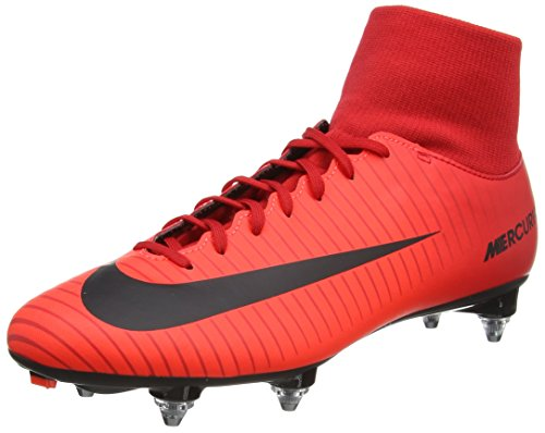 Nike Herren Mercurial Victory VI DF SG Fußballschuhe, Rot (University Redblackbright Crimson), 41 EU