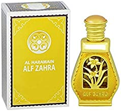 Haramain Alif Zahra for Women CPO - Concentrated Perfume Oil (Attar) 15 ML (0.51 oz)