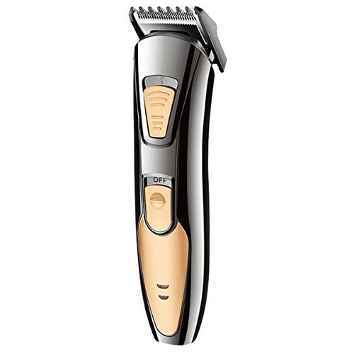 Cortapelos Cortapelos Eléctrico Barbero Recargable Máquina de Afeitar Corte Aseo Kit de...