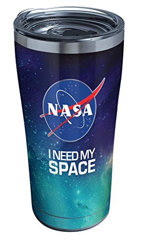 Tervis NASA Triple Walled Insulated Tumbler, 20oz-Stainless Steel, I Need My Space
