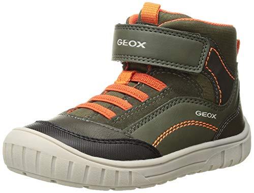 Geox Baby Jungen B OMAR Boy A Sneaker, Grün (Forest C3018), 20 EU
