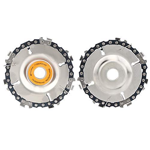 Gugxiom Disco De Corte, Amoladora Disco De Tallado En Madera Durable Compacto para Tallar para Podar Y Cortar