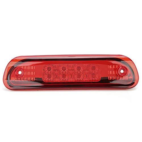 WPFC Hohe Mount Bremslicht LED Bremsleuchten 55155140AB, Passend Für Jeep Grand Cherokee 1999-2004 Autozubehör,Rot