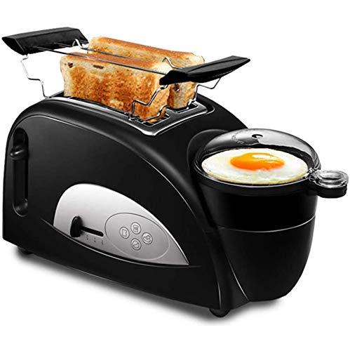 VIVICL Brotmaschine Multifunktion Automatische Edelstahl Frühstücksmaschine Brot Toaster Dampf Ei Sandwich Maker Elektroofen für Haushalt 220V