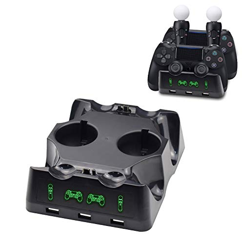 Tiancai Charging Dock Station for PS VR Move Motion and Controller
