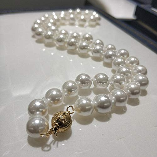 Zozu JYX Shell Pearl Max 71% OFF Necklace depot Jewelry White Natura 8-8.5mm Round