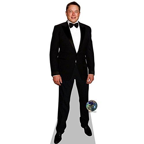 Celebrity Cutouts Elon Musk Pappaufsteller Mini