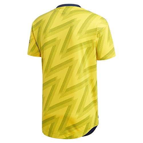 Arsenal Away 19/20 Soccer Jersey Color Yellow Size S