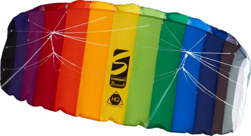HQ Symphony Beach II 1.7 Rainbow Sport Kite