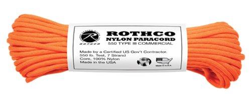 Rothco 249,5kilogram. Type III en nylon Paracord