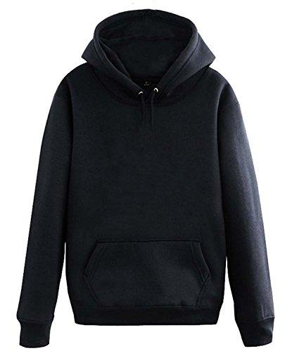 CosDaddy ® remix DJ Sweater Hoodie Kapuzenpullover Cosplay fashion Asien Size (M), Schwarz