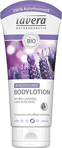 Lavera Bodylotion beruhigend Bio-Lavendel & Bio-Aloe Vera 3er Vorteilspack (3 x 200ml)