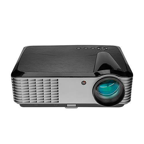 """5000 Lumens Projector,1080p Native Projector with WiFi and Bluetooth, Home Theater Projector with HDMI USB VGA AV, Projection Size 50""""-200"""", Compatible with Smartphone Tablets Game Consoles TV Stick"""