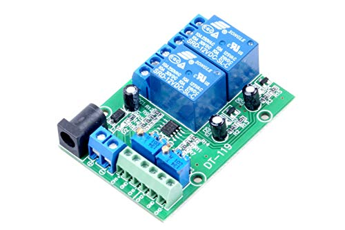 KNACRO 2-Channel 12V Voltage Comparator Module LM393 Voltage Comparator IC for Automotive Circuit Modification Industrial Equipment Circuit Application Testing (DC 12V, 2-Channel)