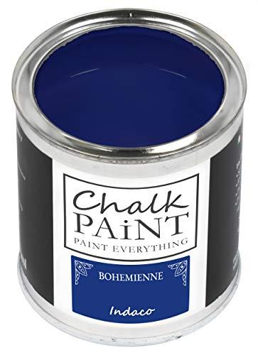 Everything CHALK PAINT BOHEMIENNE Indaco 250 ml - SENZA CARTEGGIARE Colora Facilmente Tutti i Materiali