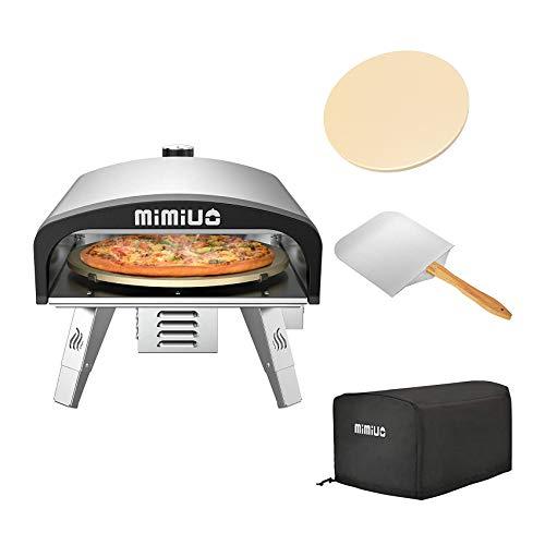 Mimiuo Outdoor Gas Pizzaofen aus...